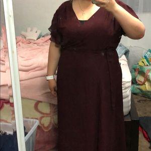 Bridesmaid a dress